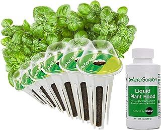 AeroGarden Pesto Basil Seed Pod Kit, 6 pod