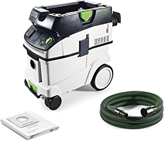 Festool CTL 36 E Cleantec-Aspirador 574965, Negro y Verde