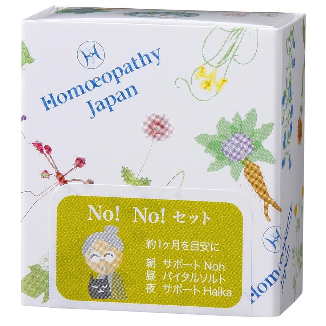 読書宿題平手打ちホメオパシージャパンレメディー NO!NO!セット