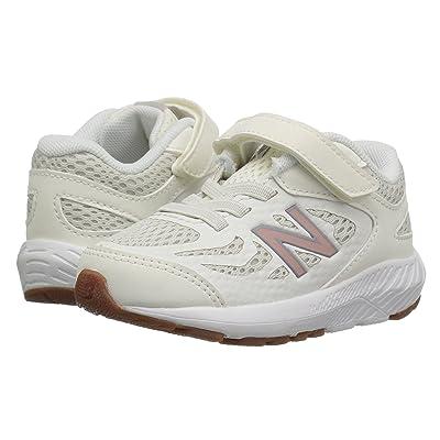 New Balance Kids KV519v1I (Infant/Toddler) (Sea Salt/Rose Gold) Girls Shoes