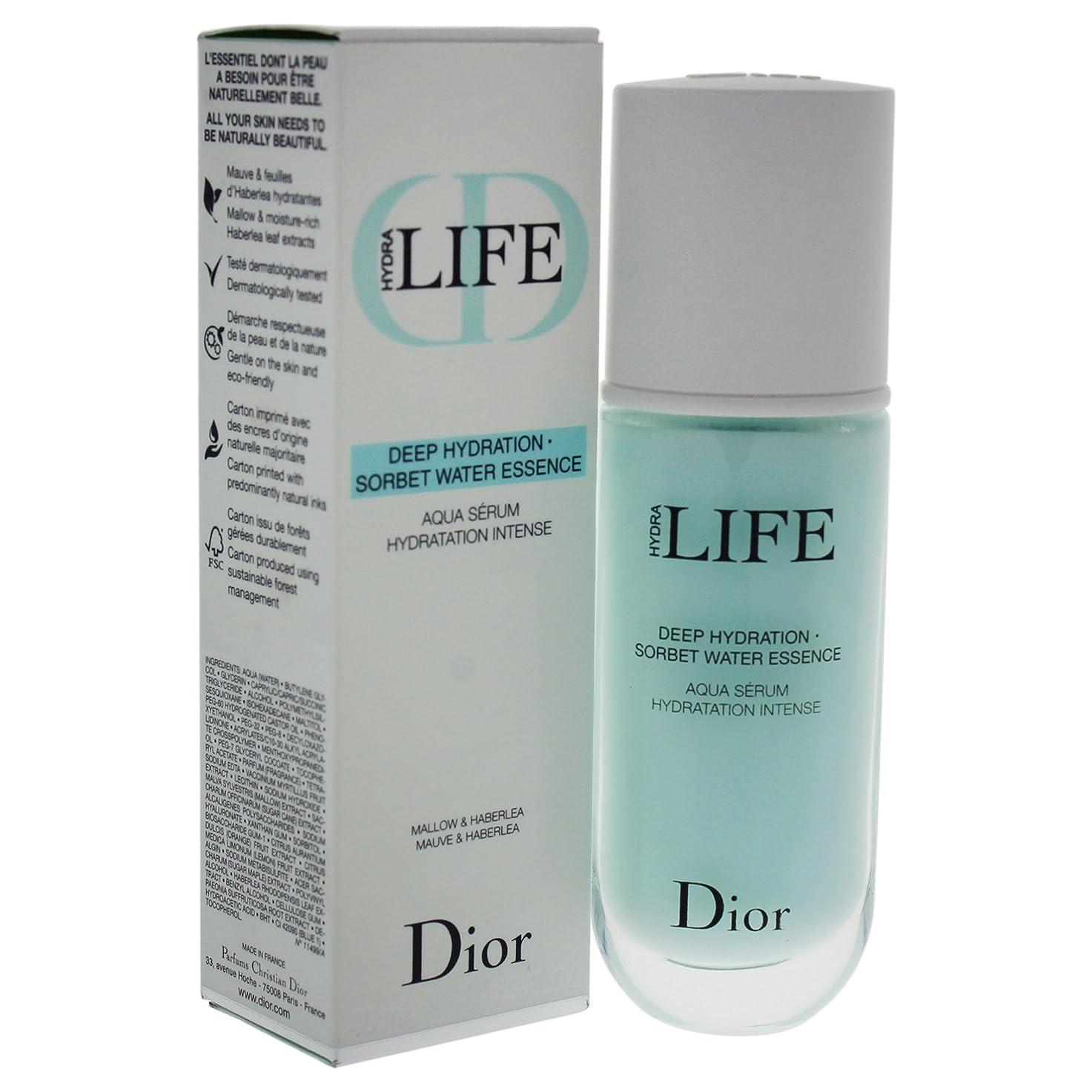 混乱固執散らすクリスチャンディオール Hydra Life Deep Hydration - Sorbet Water Essence 40ml/1.3oz並行輸入品