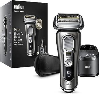 Braun Series 9 Pro 9465cc Elektrisk rakapparat för män, 4 1 rakhuvud med ProLift Trimmer, 5-i-1 rengöringsstation, 60 min ...