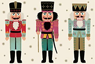 Hester & Cook Paper Placemat, Pad of 30 (Nutcrackers)