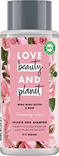 Love Beauty and Planet Blooming Color Champú manteca de muru muru & rosa 400ml