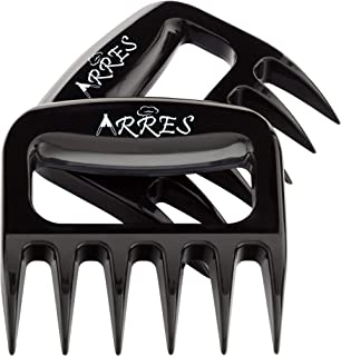 Arres Pulled Pork Claws & Meat Shredder - BBQ Grill Tools and Smoking Accessories for Carving, Handling, Lifting