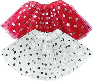 Red Tutu for Toddler Girl White Pink Purple Tutu Skirt Girls Tutus Set Dress Up