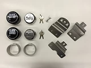 Slick Locks Dodge Ram Promaster Kit Complete with Spinners, Weather covers and Locks