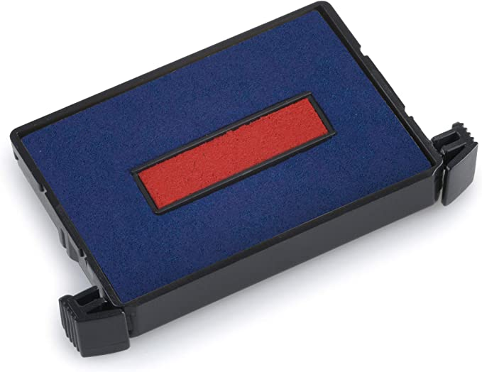 pack of 3 Color black Trodat Replacement Ink Cartridge 6//46040