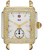 Michele - Deco 16 Diamond Two-Tone Silver/Gold Watch Head
