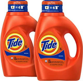 Tide Liquid Detergent Original Scent 50 Ounce (2pk)