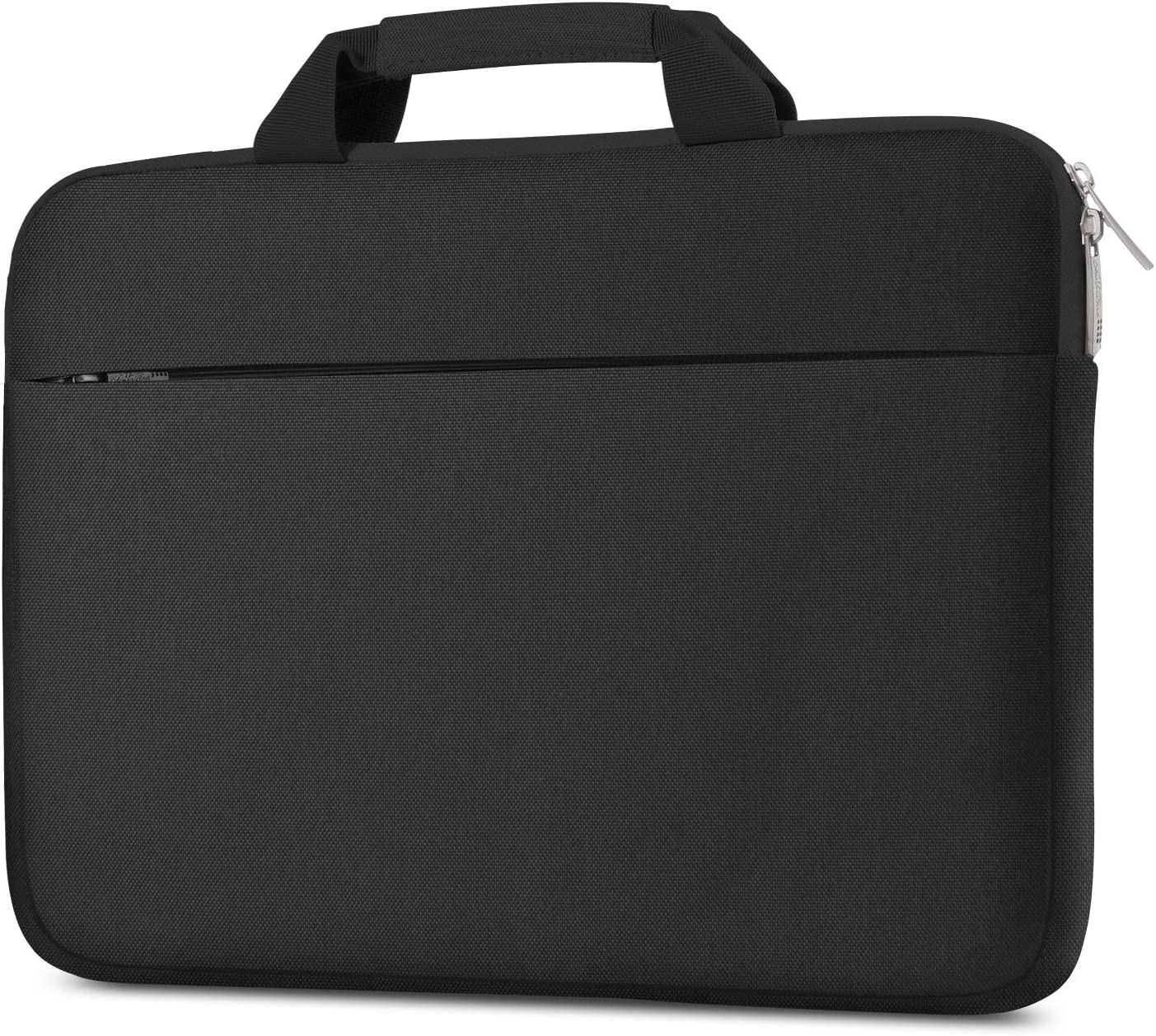 AtailorBird 15.6 Inch Laptop Sleeve, Portable Handle Briefcase Shockproof Bag Slim and Lightweight Notebook Protective Carrying Case, Black
