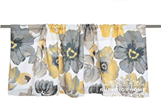 Sapphire Home Rod Pocket Floral 52