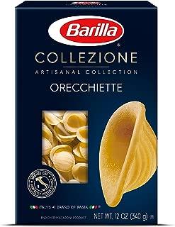 Barilla Collezione Pasta, Orecchiette, 12 Ounce (Pack of 12)