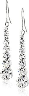 Neoglory Fashion Rhinestone Drop Earrings Ear Wear bridesmaid Jewelry White Color Women Gift