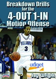 Breakdown Drills for the 4-Out 1-In Motion Offense