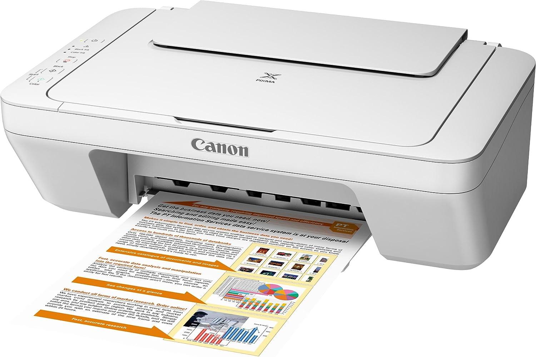 Canon Pixma MG20 Farbtintenstrahl Multifunktionsgerät weiß ...