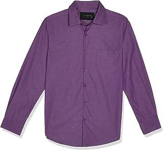 قميص رجالي رسمي من دايفيرس مصنوع من القطن بقصة ضيقة