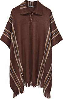 Best native american poncho with hood Reviews
