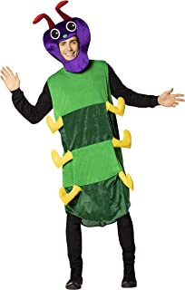 Rasta Imposta Caterpillar Adult Costume, One Size, Men's, Womens, Unisex Green