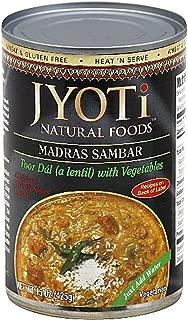 Jyoti Madras Sambar Lentils with Fresh Vegetables -- 15 oz