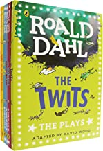 Roald Dahl: Plays for Children 6 Books Collection Set (Charlie and the Chocolate Factory, Fantastic Mr Fox, James and the Giant Peach, The BFG, The Twits, The Witches)
