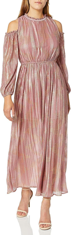Free Shipping Cheap Bargain Gift MOON online shopping RIVER Women's Cold Long Shoulder Dress