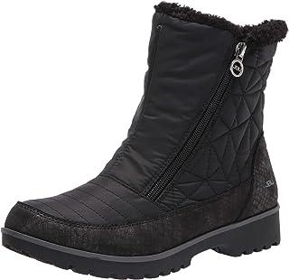 JBU by Jambu Women's Snowflake Waterproof Winter Boot, Black, 6