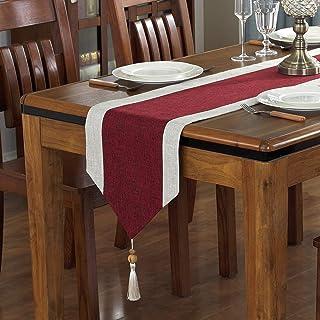 Gu3Je Hogar Inicio Camino de Mesa Mantel Decorativo clásico Mesa de Comedor de Cama Salón de Fiestas decoración Hogar ( Co...