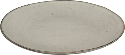Preisvergleich für Teller Ø 26cm flach Porzellan Vintage Steingut Creme