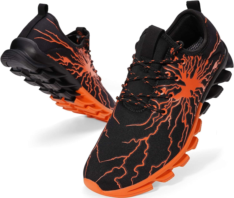 BRONAX Men's Stylish Sneakers Personality Fashionable Ranking TOP10 Graffiti