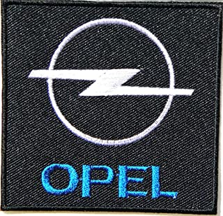 """OPEL Logo Sign Car Racing Patch 3"""" Iron-on or Sew-on Embroidered Applique Emblem Patch/Badge Perfect for Dress Clothes Pan..."""