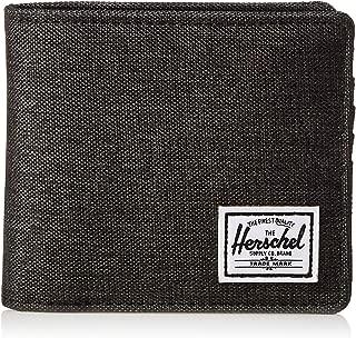 Herschel Hans Unisex Wallet, Black Crosshatch