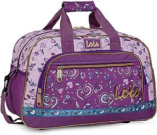 2bfd6f83d Lois - Bolsa Infantil Estampada de Niña. Adaptable a Trolley. Deporte  Colegio Viaje Gimnasio