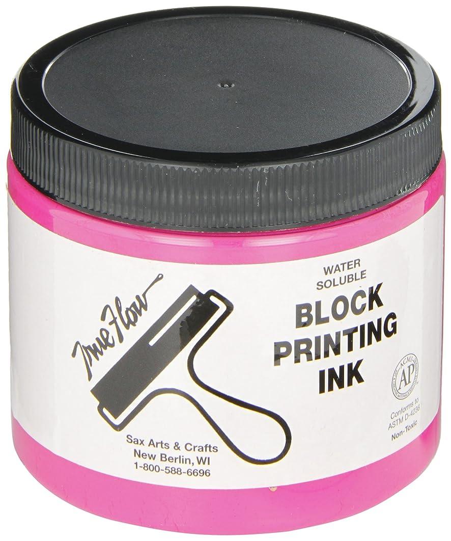 Sax True Flow Water Soluble Block Printing Ink - 16 Ounces - Magenta