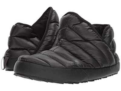 The North Face ThermoBall Traction Bootie (Shiny TNF Black/Beluga Grey) Women
