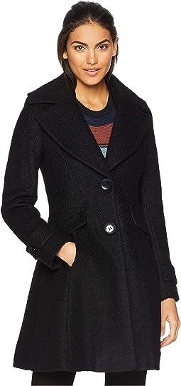 Fit & Flare Coat