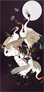 Bilderwelten Pizarra magnética - Cranes In Front of Moon II 78x37cm