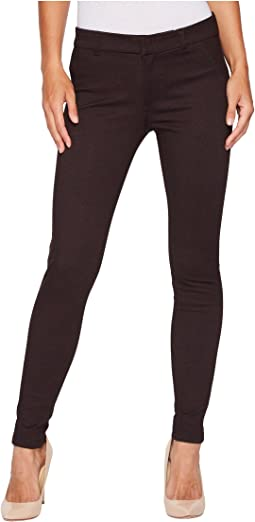 KUT from the Kloth - Mia Ankle Skinny Ponte in Bordeaux Wine