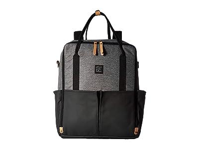 petunia pickle bottom Inter-Mix Backpack (Graphite/Black) Diaper Bags