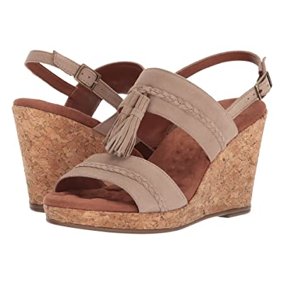 Walking Cradles Kalinda (Light Taupe Suede) Women