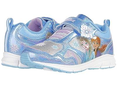 Josmo Kids Frozen Lighted Sneaker (Toddler/Little Kid) (Blue/Purple) Girl