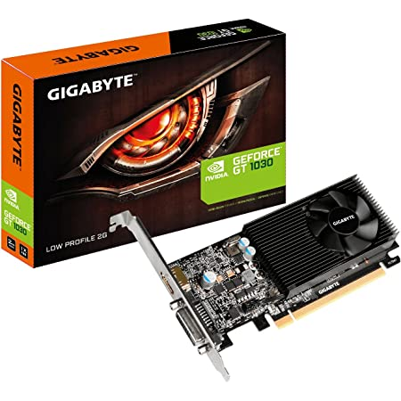 GIGABYTE NVIDIA GeForce GT1030搭載グラフィックボード GDDR5 2GB 【国内正規代理店品】 GV-N1030D5-2GL