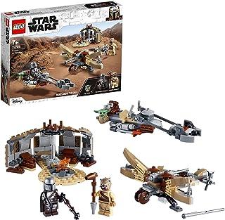 LEGO 75299 Star Wars: The Mandalorian Trouble op Tatooine Bouwset met Baby Yoda Baby Poppetje voor Kinderen van 7 Jaar en ...
