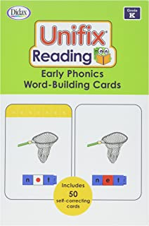 Didax Unifix Reading: Early Phonics Word-Building Cards