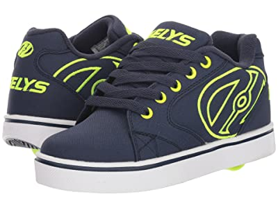 Heelys Vopel (Little Kid/Big Kid/Adult) (Navy/Bright Yellow) Boys Shoes