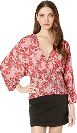 Irene Dolman Sleeve Open Back Top