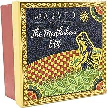 Jarved Madhubani Gift box: Teas of the world and Columbian Arabica Instant Coffee (2 Tin Jars in a beautiful artsy gift box) Diwali Giftset