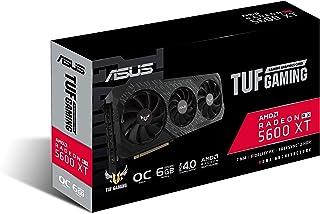 ASUS TUF Gaming X3 Radeon RX 5600 XT EVO OC Edition 6GB GDDR6 - Tarjeta Gráfica  (Axial-Tech Fan Design, 2.7-Slot Design, Auto-Extreme, Tecnología 0 dB)