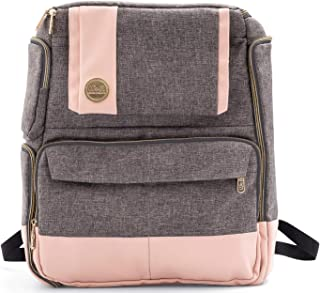 AMERICAN CRAFTS/WE R MEMORY 661174 Mochila We R Memory Keepers Rosa y Gris