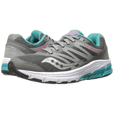 Saucony Linchpin (Grey/Teal/Pink) Women
